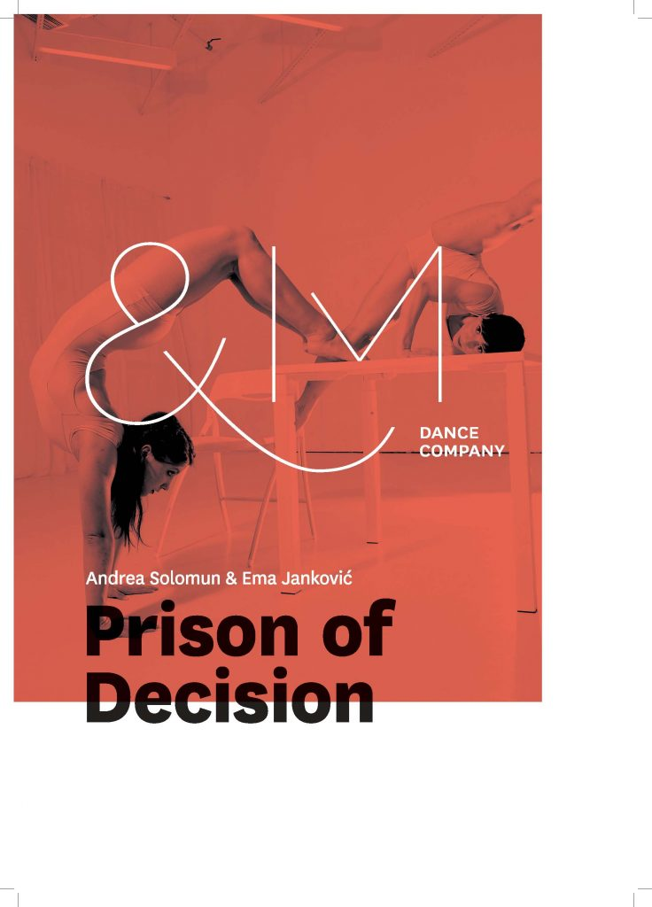 Plakat predstave Prison of Decision