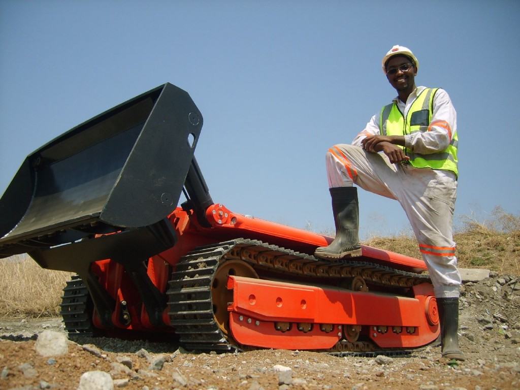 Stroj za uporabu u rudarstvu razvijen za Južnu Afriku (Foto: Dok-Ing)