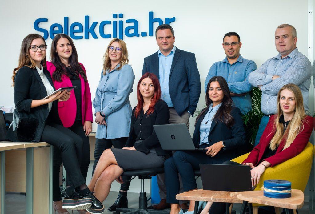 Stručni tim tvrtke Selekcija: Osnivač i vlasnik Slobodan Jović sa suradnicima